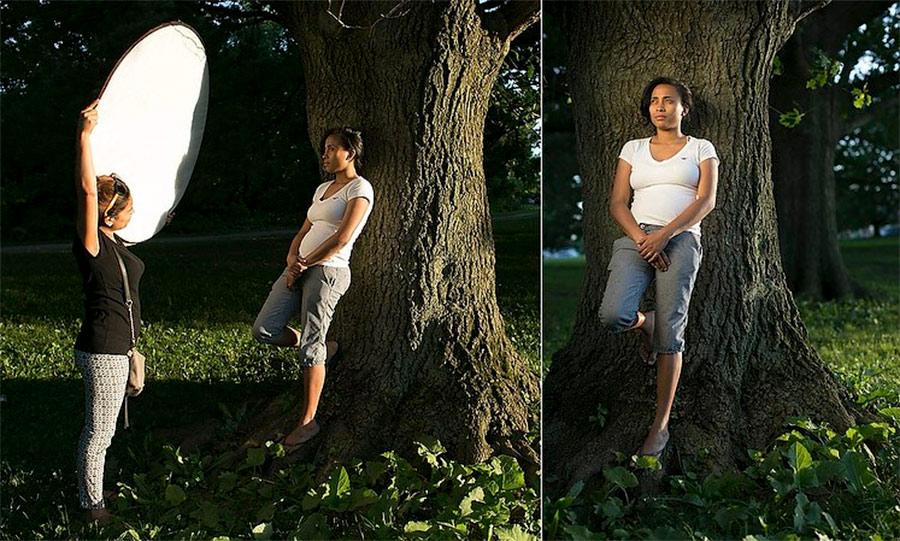 Освещение при фотосъемке на природе